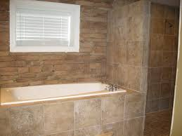 fancy shower surround with window elaboration bathroom