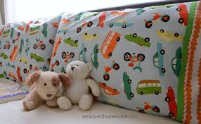 How Much Fabric To Make A Pillowcase Custom How To Make A Pillowcase Using The Burrito Method