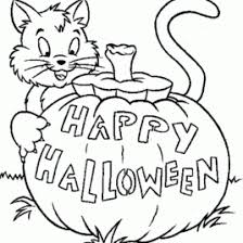 Small Picture Free Halloween Coloring Pages For Kids All About Coloring Pages