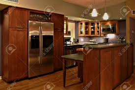 Handmade Kitchen Furniture Modern Kitchen With Handmade Cabinets And Stainless Steel