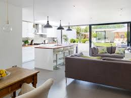 Creative Open Living Room And Kitchen Designs H22 In Home Design Trend With Open  Living Room