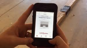 garage door remote appGarage door opener app  LiftMaster MyQ  YouTube