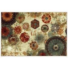 caravan medallion multi 2 ft 6 in x 3 mohawk accent rugs rug 30 46 n