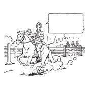 Kleurplaten Amika En Haar Paard Merel Studio100