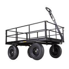 heavy duty steel utility cart