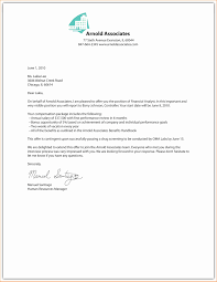 Letter Of Offer Template Sample Job Offer Letter Offer Letter Letter Sample Template