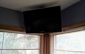 how to hang a tv mount.  Mount How To Build A Simple Flat Screen TV Ceiling Mount From Unistrut And Pipe   MacGyverisms  WonderHowTo In To Hang A Tv I