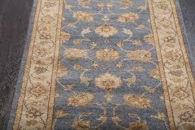 rugsville sultanabad ziegler oriental blue ivory hand knotted runner rug 60x488