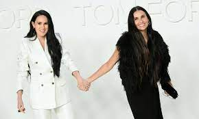 Demi Moore and Rumer Willis are living ...