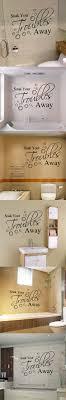 Wall Writing Decor 17 Best Ideas About Bathroom Wall Decals On Pinterest Bathroom