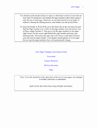 Microsoft Word Outline Template Awesome Apa Paper Template As Well