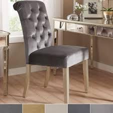 Benchwright-Velvet-Tufted-Rolled-Back-Parsons-Chairs-Set-