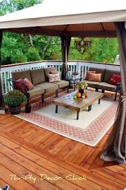Image Townhouse Deck Furniture Outdoor Decor Outdoor Rooms Outdoor Living Outdoor Seating Deck Seating Pinterest How To Decorate Small Patio Projects Tips Tricks Pinterest