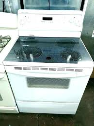 samsung flat top stove glass electric range burner not working how to clean a