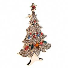 Christmas Brooches With Lights Amazon Com Jana Winkle Oppohere Christmas Zinc Alloy Gold