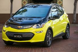 2018 chevrolet bolt ev.  bolt 2017 chevrolet bolt ev electric car in maven carsharing fleet los angeles   on 2018 chevrolet bolt ev 2