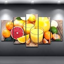 fruit paintings on canvas printed 5 panel landscape picture modular painting modern wall art home decor artwork for oil