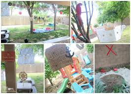 pirate party decorations diy outdoor decor