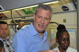 Homeless booted from subways so de Blasio could have clean ride.