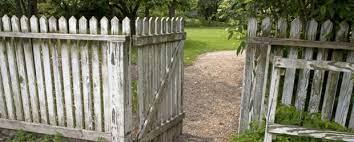 fence paint garden fence diy tips
