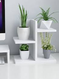 Buy 1Pc <b>Home Storage</b> Shelf Modern Simple Three Layers Wooden ...