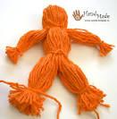 Куклы из ниток и ткани