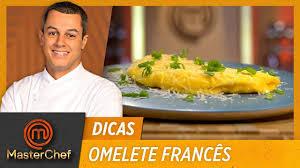 MasterChef Brasil - Como preparar OMELETE FRANCÊS com Rafael Gomes   DICAS  MASTERCHEF