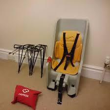 hamax co pilot child s bike seat 2 racks and rain poncho