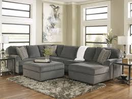 S SOLEOVERSIZED MODERN GRAY FABRIC SOFA COUCH SECTIONAL SET LIVING ROOM  FURNITURE