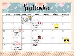 Happy Ganchillo Calendario Contenidos Septiembre 2015