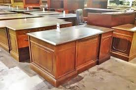 office furniture pre owned executive desk