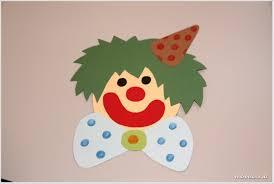 Wir Basteln Für Karneval Clown Fensterbilder Redroselove Mein