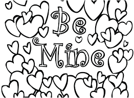 Valentine Coloring Pages To Print Printable Disney Valentines Free ...