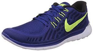 nike running shoes for men blue. nike men\u0027s free 5.0 dp royal blue/vlt/rcr bl/white running shoe shoes for men blue l