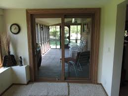 door patio. Inside View Of Sliding Patio Door