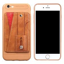 iphone 6s plus case slim durable sleek leather wallet back cover with credit card slots