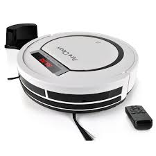 automatic programmable robot vacuum cleaner scheduled activation charge dock robotic auto home cleaning for clean carpet hardwood floor hepa pet hair
