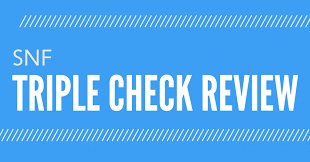 Medicare Home Health Chart Audit Tool Skilled Nursing Facility Triple Check Review Esolutions