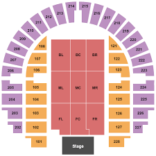 Bell County Expo Center Seating Charts For All 2019 Events