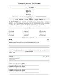Open Office Resume Templates Free Download Resume Template For Openoffice Resume For Study 83