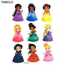 купить оптом Tanglv бренд детской татуировки девушки разных цветов Taty Body Art