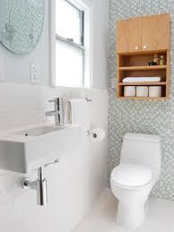 Small Space Modern Bathroom | Jennifer Jones | HGTV