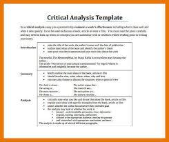 9 10 Critical Analysis Example Artresumeexamples Com