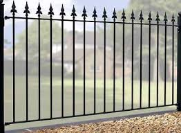garden fencing panels. Warwick Wrought Iron Style Metal Garden Fence Panels Fencing