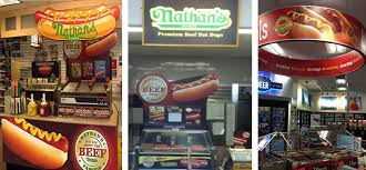 Nathan's Hot Dog Vending Machine Gorgeous Nathan's Famous
