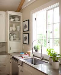 Storage Ideas For Kitchens Without Upper Cabinets Traditional Home Custom Kitchen Without Cabinets