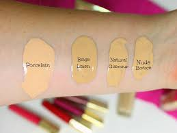 Avon Foundation Colour Chart Bows And Pleats A Hidden Gem The Avon Luxe Range Review