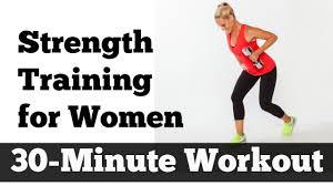 30 minute strength training for women