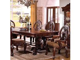 Tuscany I Formal Dining Table Traditional Antique Cherry Set - Shop for
