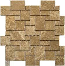 Versailles Tile Pattern Mesmerizing Travertine Floor Tile Versailles Pattern Danielmetcalfco
